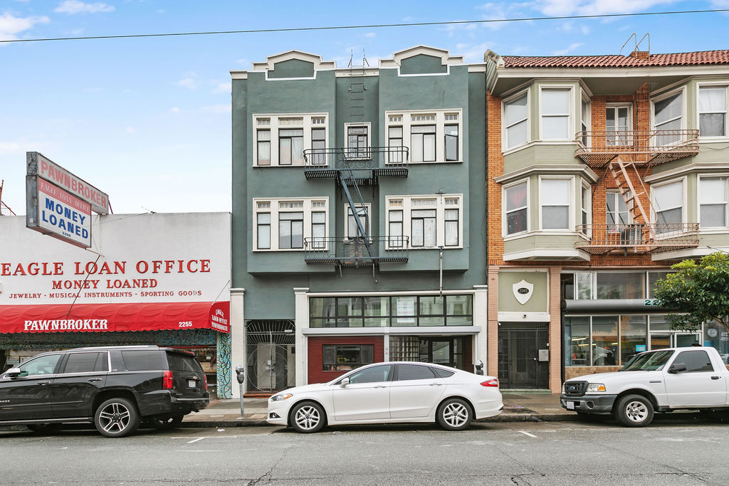 2263 Mission Street Retail Space for Lease in the Mission DIstrict