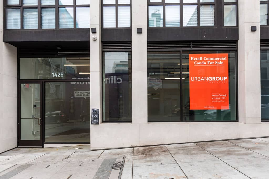 San Francisco Retail Space For Sale